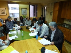 有識者と会員・会友等有志による検討会を開催しました