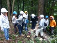 第1回 「A-WASS 循環と共生の森づくり in ときがわ」 の様子